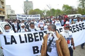 Une nouvelle manifestation pour la liberté de la presse est prévue ce jour. (Photo : Yvon Ram)