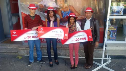 Airtel : Trois gagnants pour le concours Opéra Mini