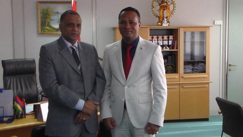 Création d'emploi : En partenariat avec l'île Maurice !