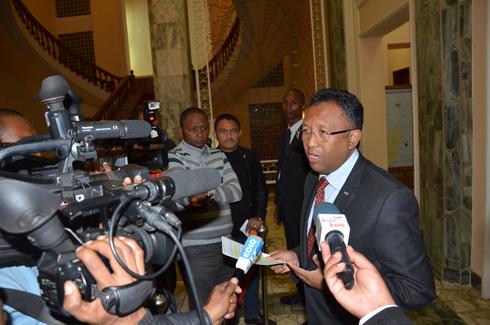 Hery Rajaonarimampianina : L'évaluation des copies des ministres