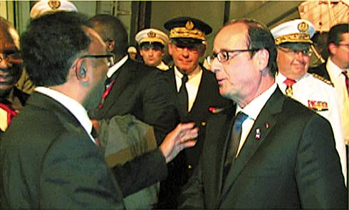 François Hollande : 5 Présidents reçus cette semaine