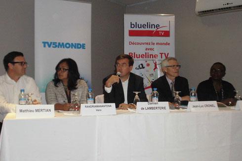 Télévision: TV5Monde Afrique reçue par 12 millions de foyers en Afrique