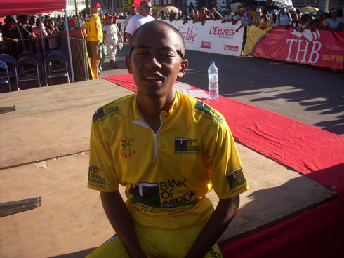 Maillot Telma du premier Malgache : Roger Randrianambinina monopolise les trophées