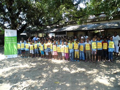 VIVO Energy Madagascar : Kits scolaires pour l'EPP La Foire Toamasina