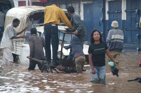 Bas quartiers : Problèmes dermatologiques à cause de la montée des eaux