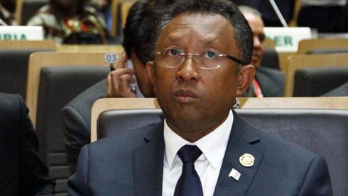 Hery Rajaonarimampianina : Première sortie de l'année à Addis-Abeba
