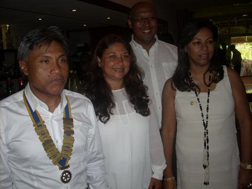 Rotary club Mahamasina : Intronisation de trois nouveaux membres, samedi dernier