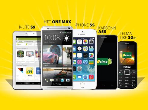 Grand Jeu SMS Telma : Des téléphones haut de gamme en jeu