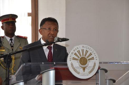 Hery Rajaonarimampianina : De l'Expo de Milan au Sommet de Gaborone
