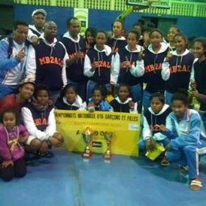Les joueuses de la MB2All ont remporté le titre national 2015.