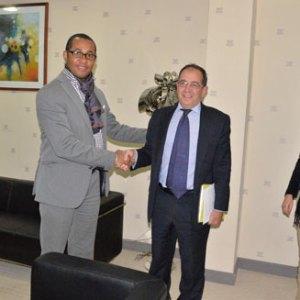 Le ministre Ulrich Andriantiana a reçu hier l'Ambassadeur espagnole SEM. Juan F. Sell.
