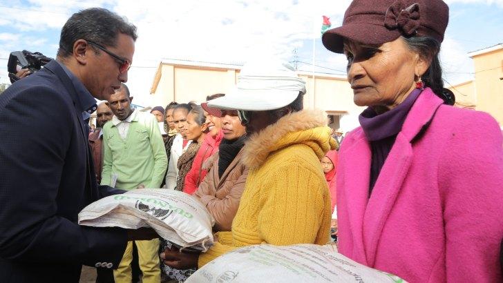 Développement agricole: Appui de Guanomad aux paysans d'Ambohibao Antehiroka