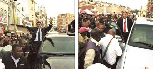 Place du 13 mai : Succès populaire de Rajoelina et de Ravalo