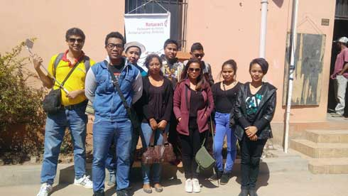 EPP Analamahitsy Village : Don de 108 kits scolaires par le club Rotaract Ankoay