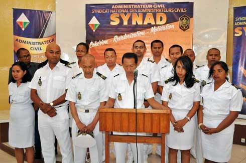 SYNAD : Les administrateurs civils en AG à Morondava
