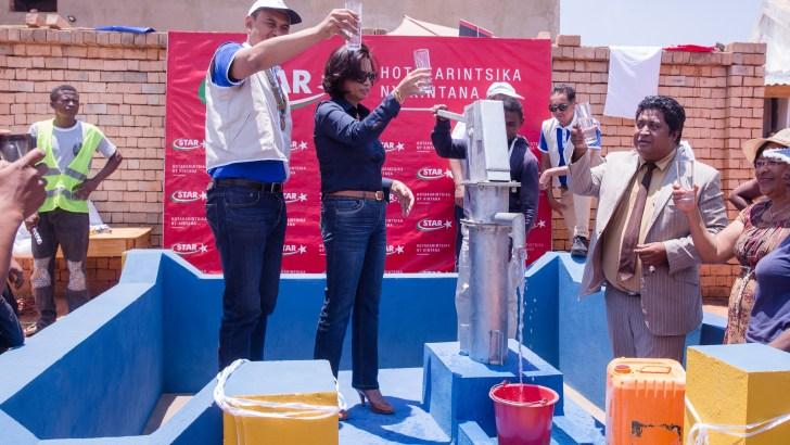 Actions RSE : Un nouveau puits pour le «fokontany» Ambohimarina Itaosy
