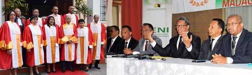 Collectif des 22 candidats : La recomposition de la HCC et de la CENI réclamée