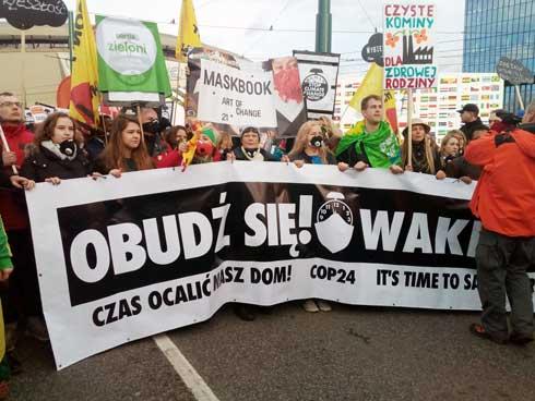 Marche pour le Climat 2018 en Pologne : Les faits marquants et les aspects importants