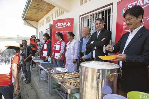 Actions RSE de la STAR : 11.800 repas à distribuer cette année 2019