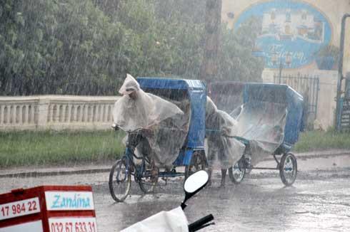 Météo du week-end : Des averses orageuses dans tout Mada