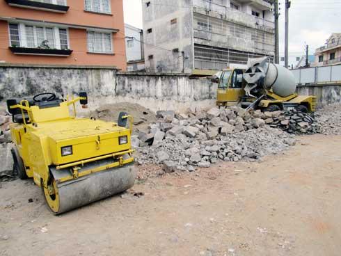 Antananarivo-Renivohitra : Des projets de construction de ruelles en béton