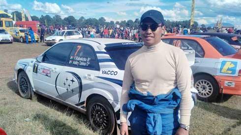 Fred Rabekoto : « J'ai grandi avec le sport automobile »