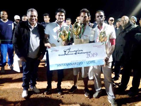 Pétanque- Tournoi de qualification : Ali, Mamy et Tafita bons pour Lomé