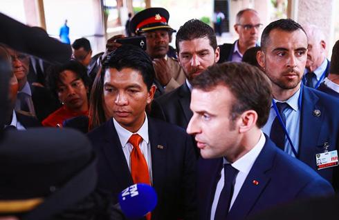 Visite officielle à Paris : Revanche sur l'histoire pour Andry Rajoelina