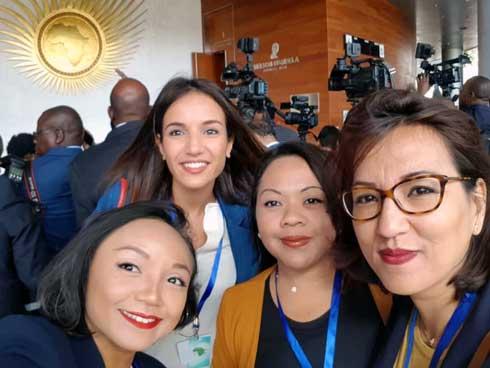 Palais d'Iavoloha : Entourage présidentiel au féminin pluriel