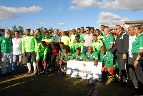 Football – CAN 2019 : Les Barea en communion avec les supporteurs