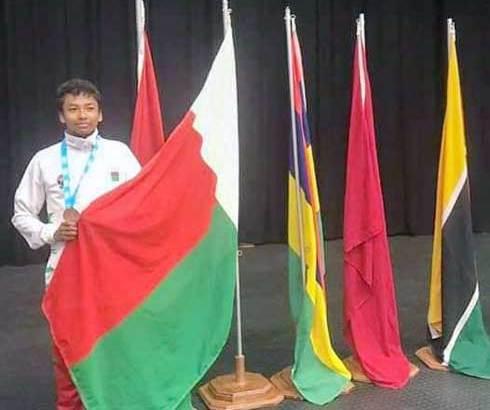 Karaté – Championnats d'Afrique : Mami-Mick Raveloson en bronze !