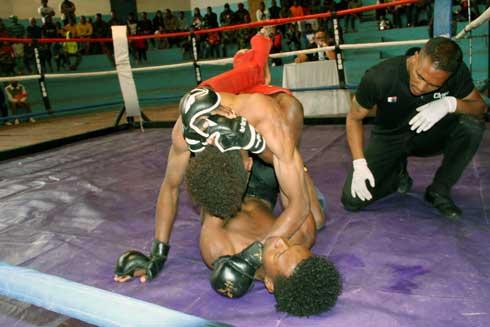 « Pancrace Combat »  : Bonne préparation pour les athlètes malgaches