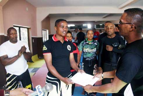 Combattants d'Analamanga : Prêts pour le « Pancrace Combat »