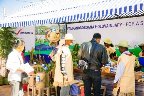Ambatovy : Des opportunités de marchés  pour une dizaine de coopératives