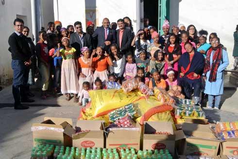 Association Hindoue Samaj : Des dons pour l'Akany Avoko tous les mois.