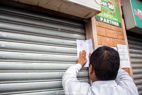 Antaninarenina : Suspension d'activité d'un magasin