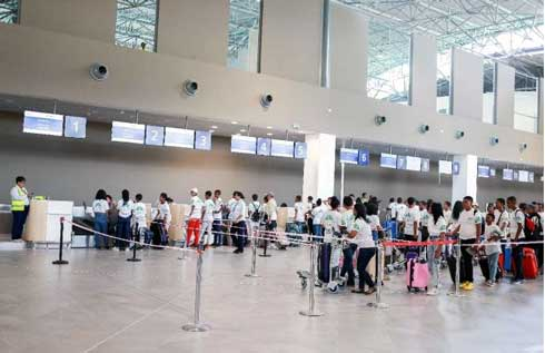 Aéroport d'Ivato : Test de sécurité et de fonctionnement  réussi pour le nouveau terminal international
