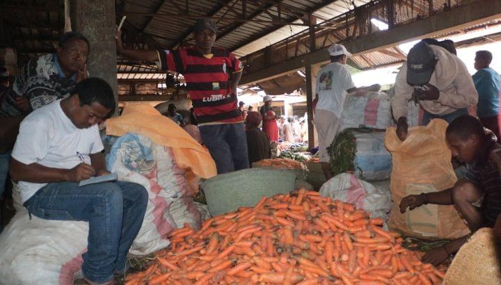 Commerce de légumes :Un grand problème de ravitaillement de la capitale