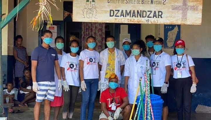 Aides sociales : « Malagasy en Action » au chevet de la population nosibéenne
