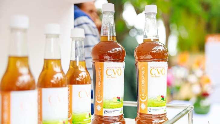 Andry Rajoelina : Cérémonie de lancement officiel du « Covid-Organics »