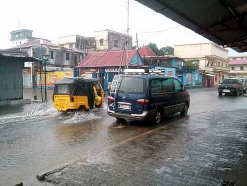 Prévisions météorologiques : Toamasina, le temps pluvieux demeure