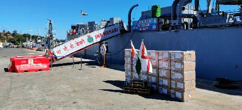 Coopération Inde-Madagascar : Le lot de fournitures médicales contre le Covid-19, arrivé cette semaine
