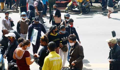 Non port de masques : Vakinankaratra enregistre le plus grand nombre de récalcitrants