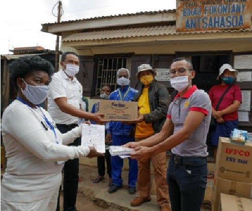 Groupe Basan : appui à la Commune d'Ankaraobato