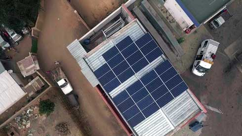 BNI Madagascar : L'agence d'Ilakaka équipée en énergie solaire