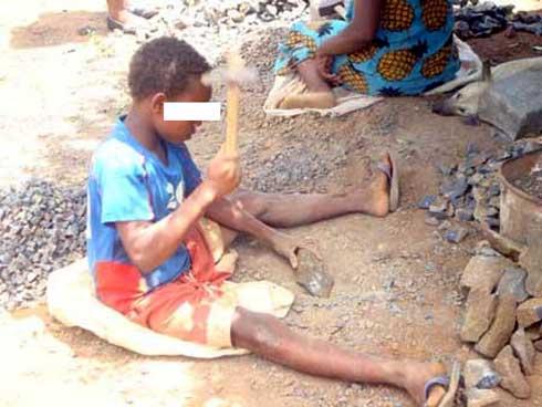 Période de confinement :Hausse du travail des enfants