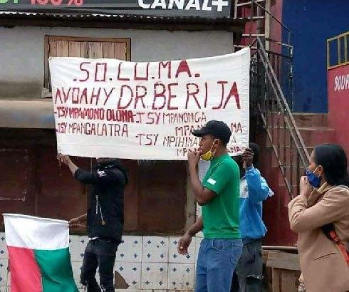 Ambohipo : Manif pour la libération de Berija