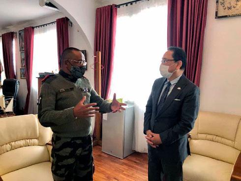 Restructuration de l'armée : Le partenariat sur le maritime intéresse les Japonais
