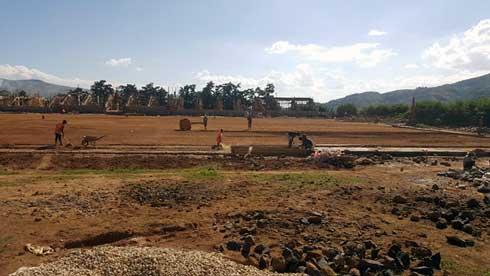 Stade de Betafo : Il reste la clôture extérieure