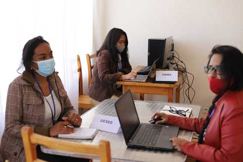 ONE : Bureau provisoire à Ambatobe